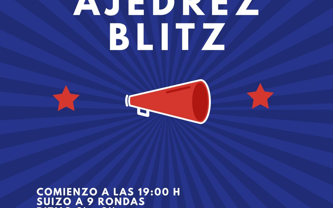 IX Open de Ajedrez Blitz Club Jaque Mate