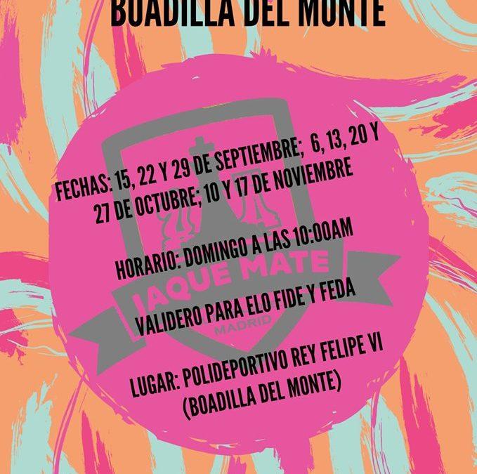 IV Open de Ajedrez de Boadilla del Monte