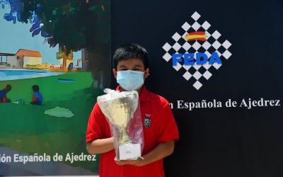 JULIO CENTENO SUBCAMPEÓN DE ESPAÑA SUB-12