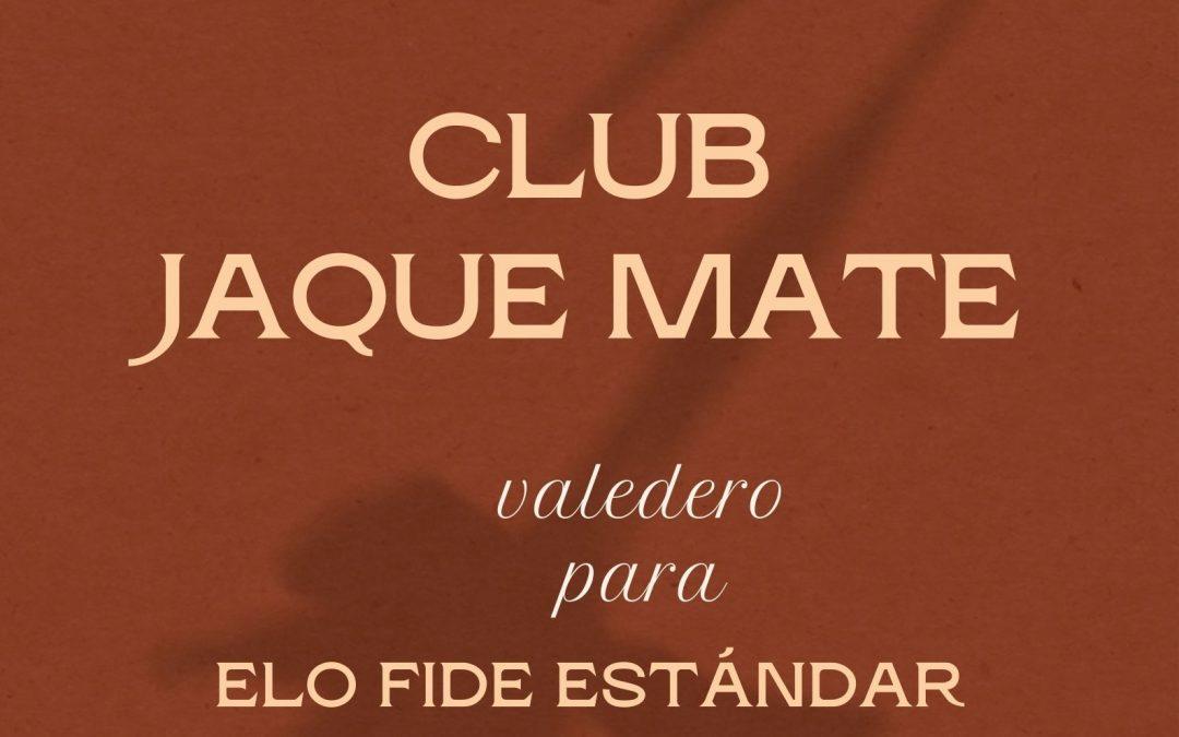 VIII Torneo Suizo Sub 1600 Club Jaque Mate