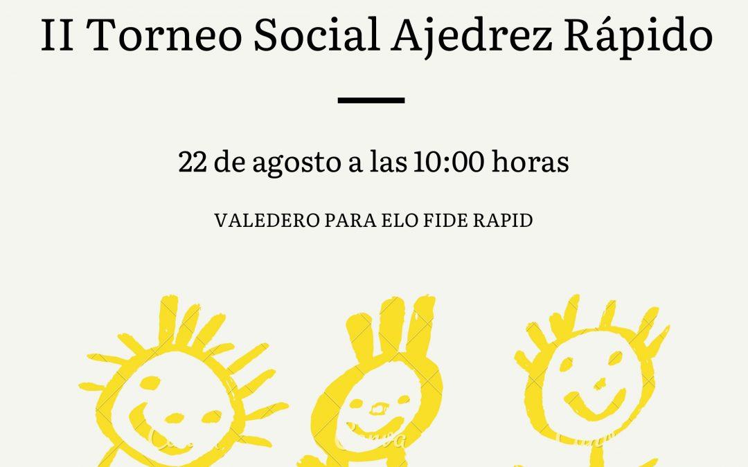 II Torneo Social Ajedrez Rápido Club Jaque Mate